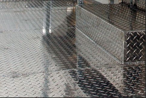 Anti-slip Aluminum Checkered Plate For Truck Body