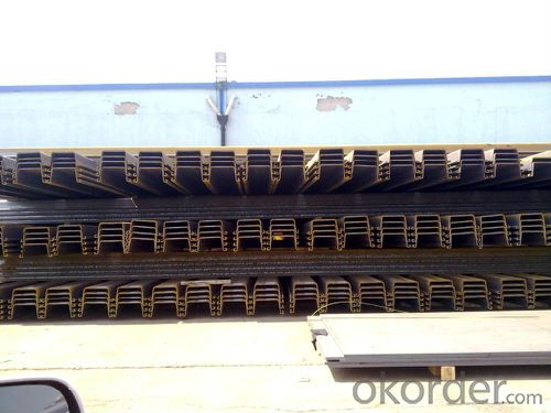Japanese Standard Steel Sheet Pile with High Quality-SKSP-Ⅳ-15m