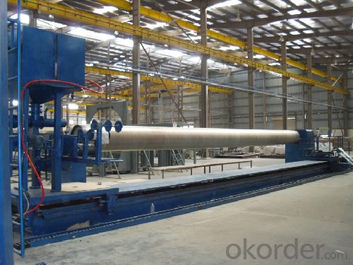 FRP PIPE FILAMENT WINDING MACHINE DN1000-2500