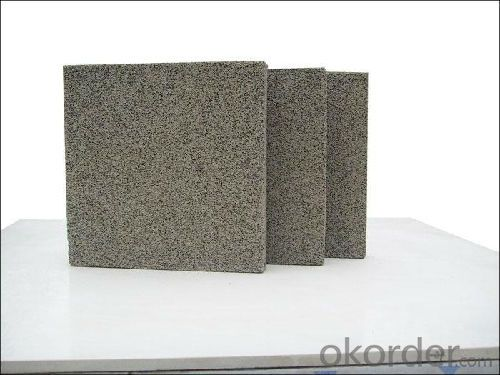 Fireproof Phenolic Foam Thermal Insulation Board Aluminium Foil