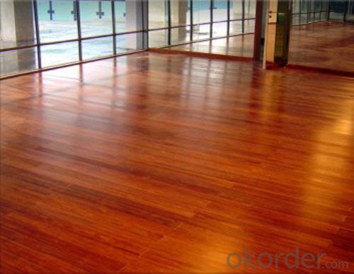 Oiled Strand Woven Bamboo Flooring------Whitewash