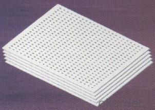 Suspended 20mm Thickness  Mineral Fiber Board Ceiling Tile