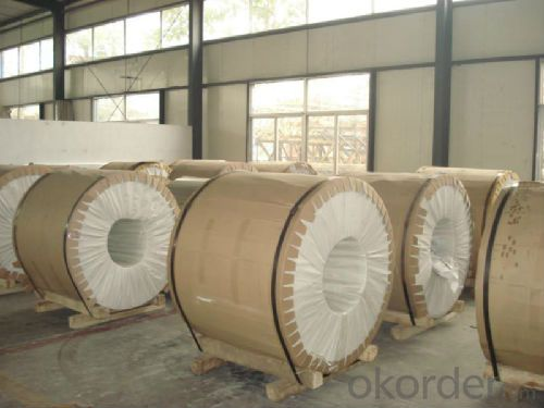 DC and CC 1/3/5/6/8 Series Mill Finish Aluminium Coil
