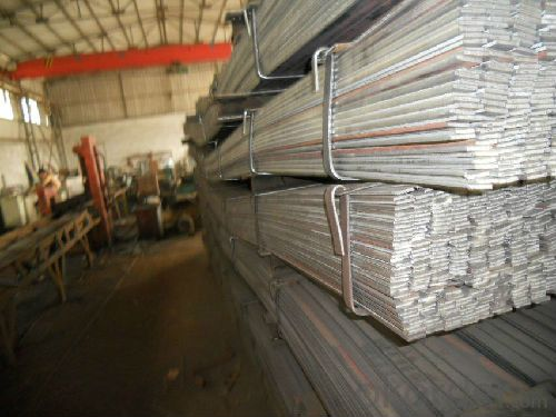 Spring Steel Flat  Bar with high quality