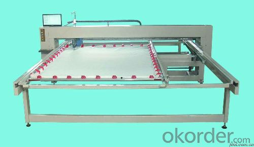 HIGH SPEED COMPUTERIZED SINGLE NEEDLE QUILTING MACHINE
