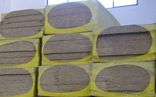 Building Excellent Insulation Material Rock Wool Board 130KG For Insulation