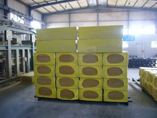 Building Excellent Insulation Material Rock Wool Board 100KG For Insulation