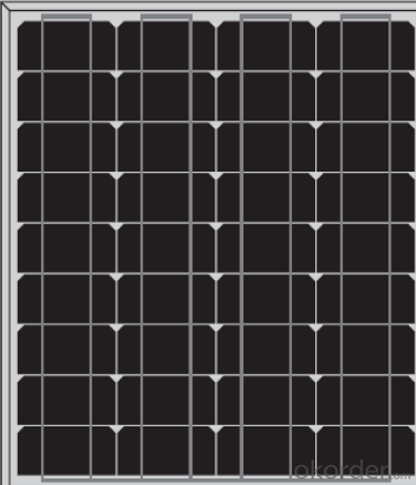 Mono 45w and 50w   CNBM Solar Monocrystalline 125mm Series