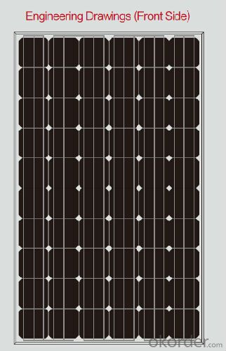 250W Solar PV Module BIPV For The Solar Plant