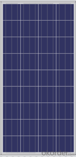 Poly Solar Panels from 130 150W  from CNBM ,China