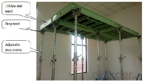 Aluminum-frame Formwork System for Concrete Pouring