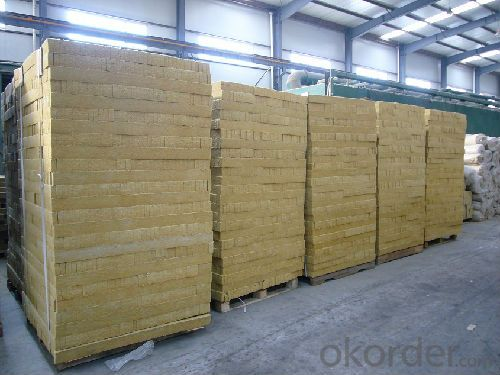 Rock Wool Board 110KG50MM For Industrial Building Insulation