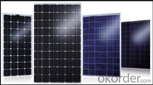 Solar Panel Solar Module with Different Power Output