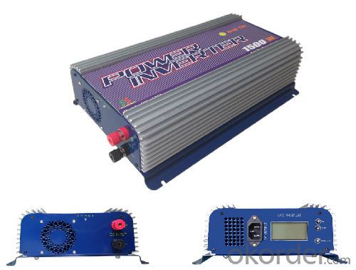 Solar Grid Tie Inverter/600w SUN-600G for Solar System