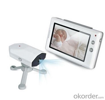 "2.4GHz Digital Video Baby Monitor 4.3"" color LCD"