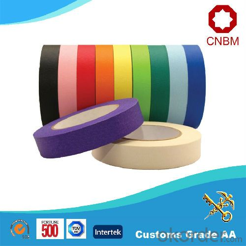 Masking Tape Temperature Resistance 130 Various Colours