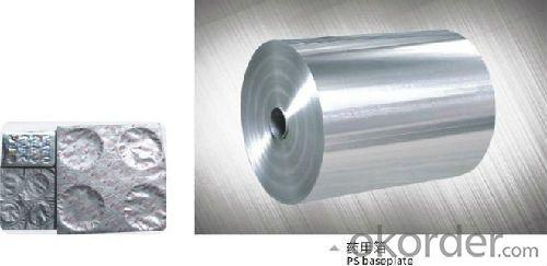 Aluminum Foil Tablets Pills Pharmaceutical Blister Packaging