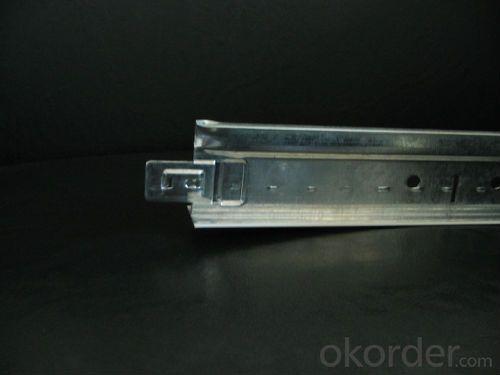 Top Cross Rail of Light Steel Top Cross Rail of Light Steel