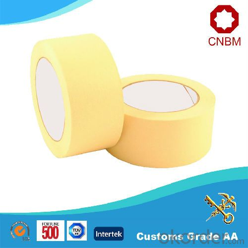 Masking Tape Nature Rubber ISO9001&SGS High Quality