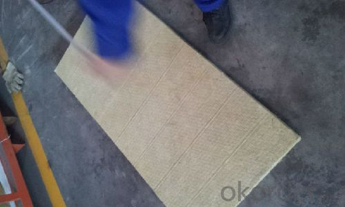 Rock Wool Board 90KG50MM For Building Insulation