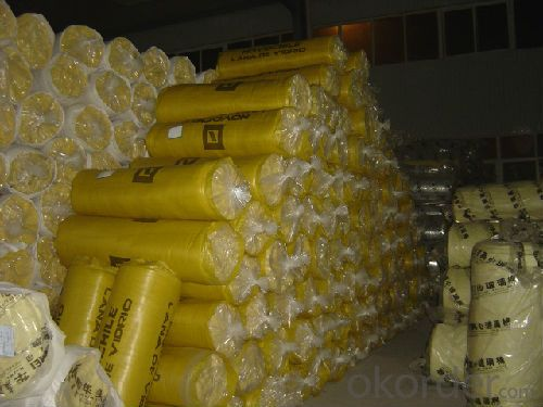 Good Quality FSK Faced Glass Wool Blanket For Heat Insulation