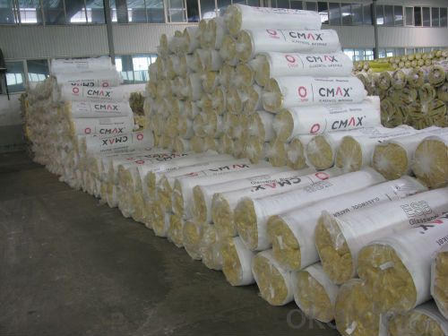 Glass Wool Blanket FSK Faced For Insulation Good Quality