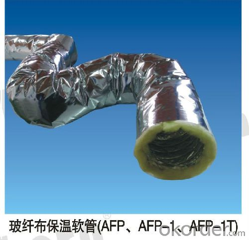 Aluminum Insulation Flexible Duct For Air Ventilation Syetem