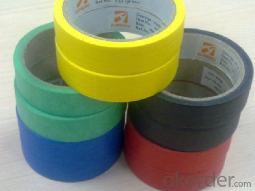 Masking Tape Low Tack Rubber Based Adhesive