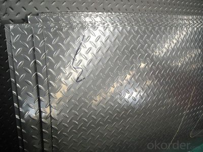 0.1 to 5mm 3 Bar Embossed AluminumSsheet Five Bars Aluminum Sheet