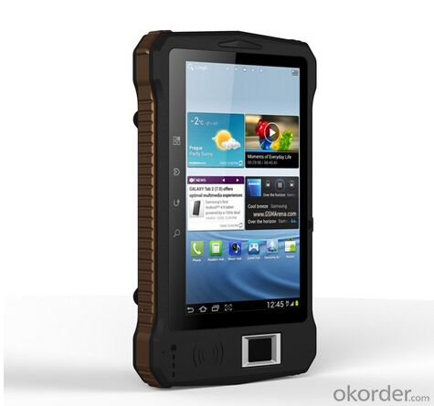 Industrail Rugged Android Tablet PC with Fingerprint Reader RFID QR Code