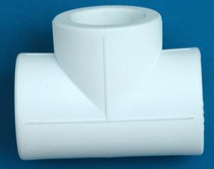PPR Plumbing Tee from China Maufacturer with Top Quality  Approved By DVGW Comply With DIN Standard