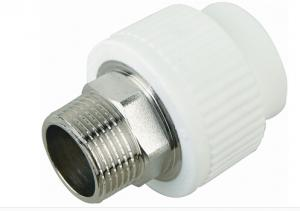 PPR Male Threaded Socket with High Quality and Safety Guarantee  for Water Supply