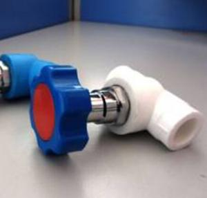 PPR stop valve with brass from Top chinese factory