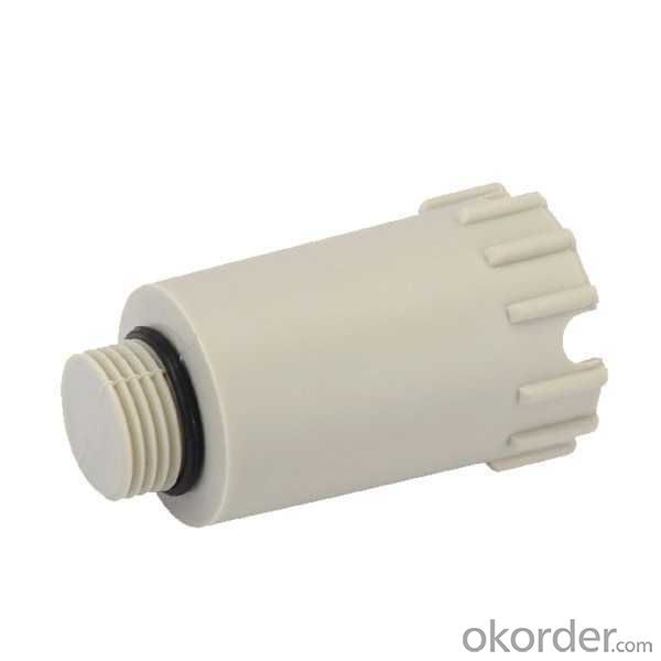 PPR long pipe plug plastic fitting long pipe plug