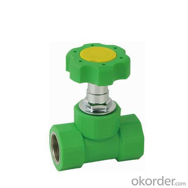 High Quality  PP-R double fenale threaded stop valve