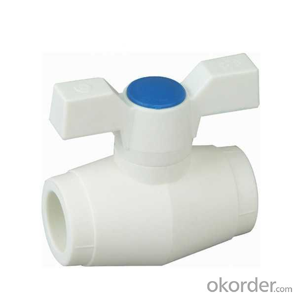 High Quality C5 Type  PP-R ball  valve  with  brass  ball
