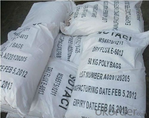 BLENDED COATING POWDER AWS E6013 E6011 WITH HIGH QUALITY