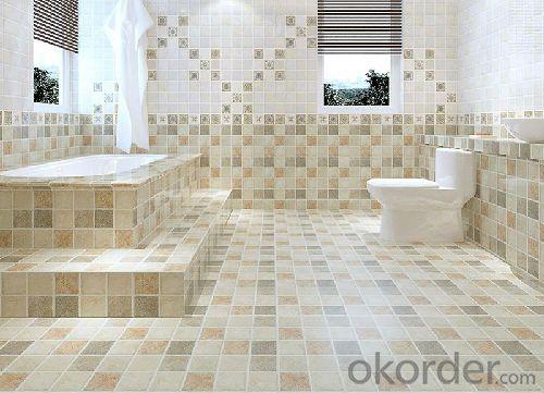 Dark Natural Color Composite Tile Countertops Vanity Tops