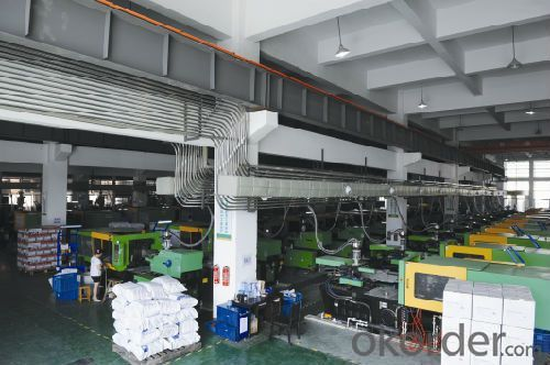 workshop of China PPR Pipes and Fittings for Hot  and Cold Water Conveyance with Safety Guaranty