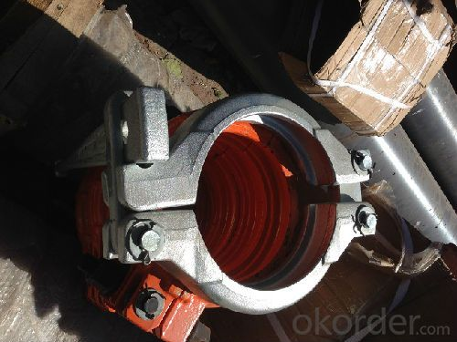 Concrete Pump Parts of Clamp Coupling of forged or casting