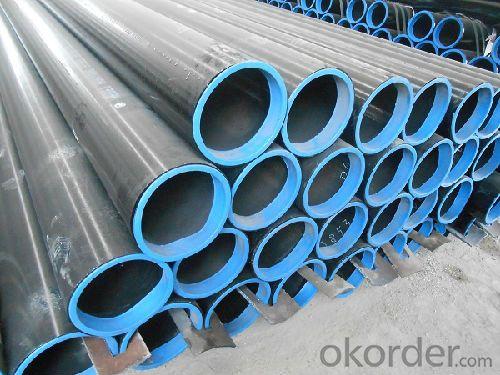 Conveying low pressure fluid seamless steel pipe