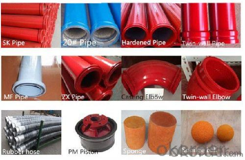 Concrete Pump Parts of Rubber Gasket from CNBM