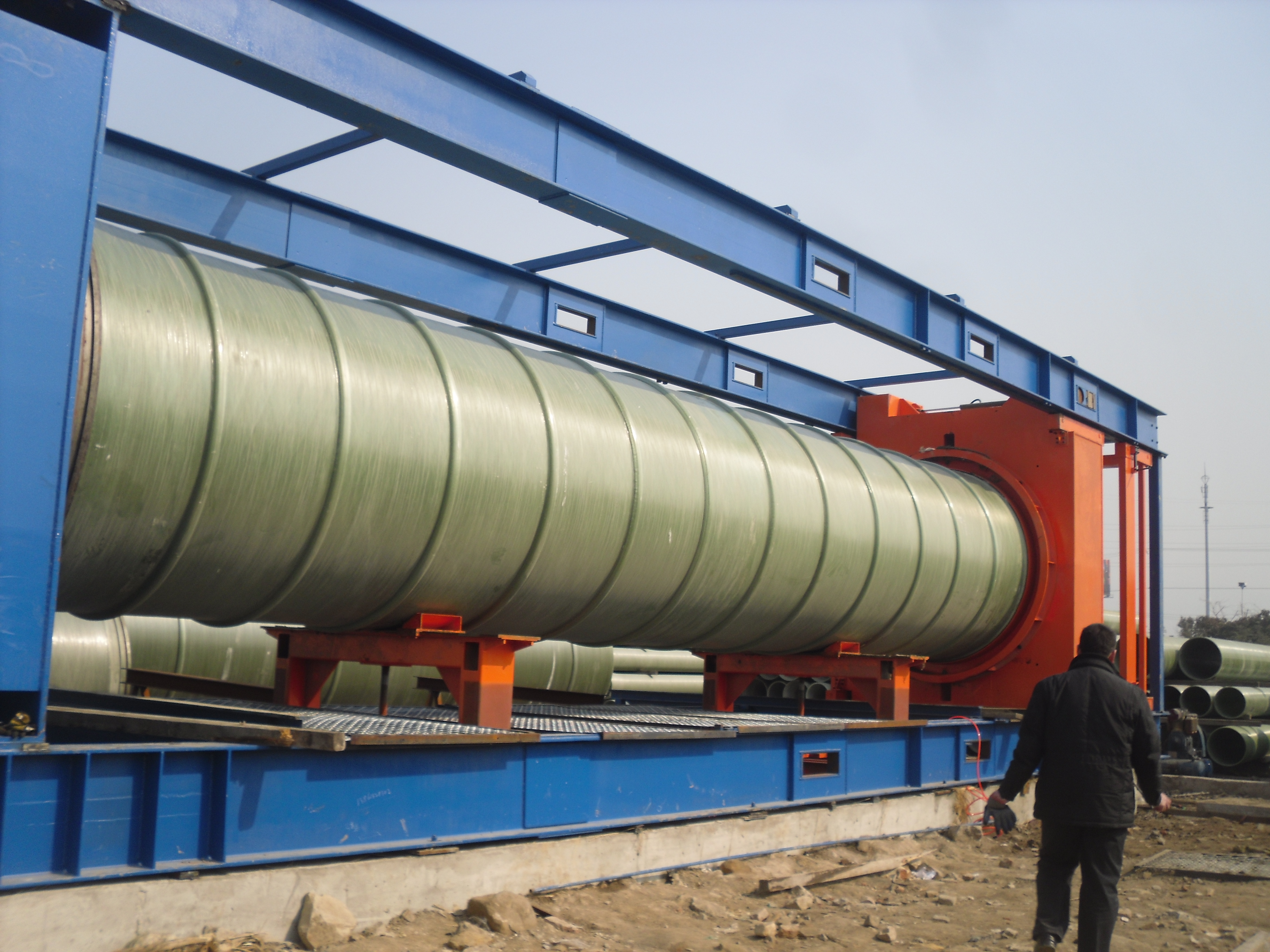 Buy frp pipe fiberglass reinforced plastic heat saving