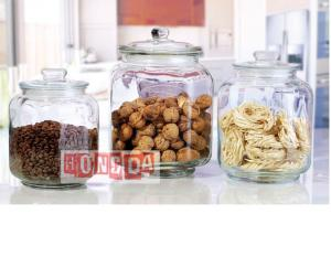 Glass Storage Jar 9720