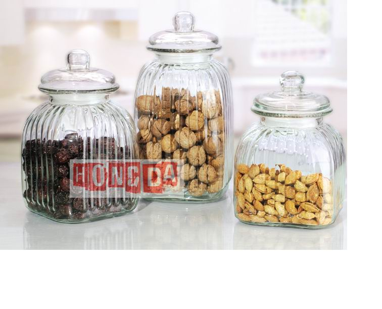 Glass Storage Jar HD41