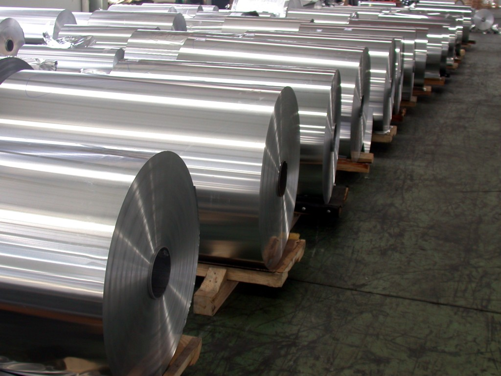 Aluminum foil stocks for pharma packing 8011-O- 0.3mm