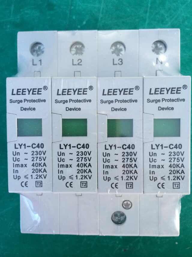 SURGE ARRESTER LY-C40/4P UC:275V