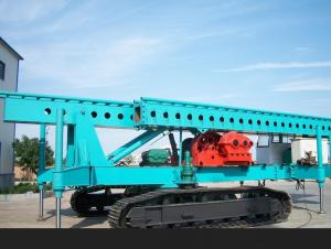 Full-Hydraulic Crawler Pile Driver