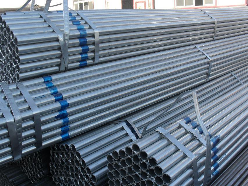 Galvanized Seamless Pipe Stock