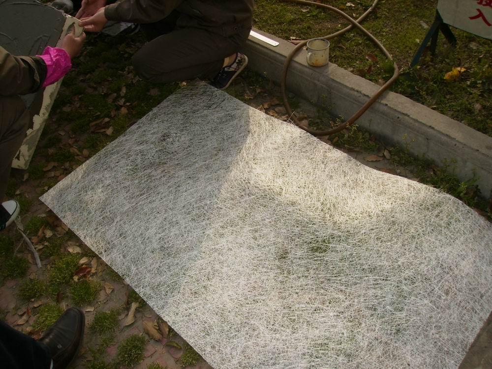 AR fiberglass mat